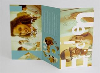 Création brochure triptyque brabant wallon